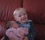 Lana et son cousin Matthias