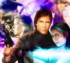 Han & Leia Solo