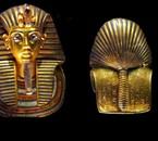 Masque  d or face & dos