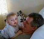 mon papa et bb loucas
