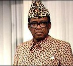 MBUTA MOBUTU SESE SEKO PRESIDENT DU ZAIRE(1965-1997)