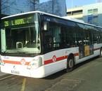 Irisbus Citelis 12 du réseau TCL (Lyon)