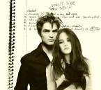 Edward and Bella - Robert and Kristen