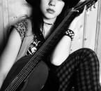 moi ac une guitare