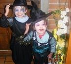 Mes deux petites sorcières bien aimées !!!