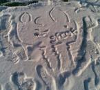 dessin sur la neige ^_^