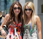 Ashley et sa meilleur amies Miley