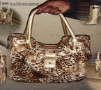 kit sac+botte leopard