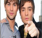 Chace Crawford,, Ed Westwick