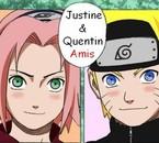 Justine & Quentin <3 Amis !