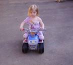 ma fille Alicia à 2 ans