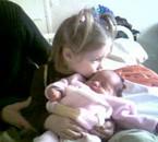 Léonie é sa soeur Alicia à la clinique