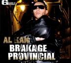 pochette de la mix tape BRAKAGE PROVINCIAL.2009