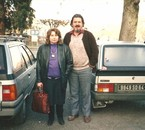 Michel Lahet et Rosine aLourdes