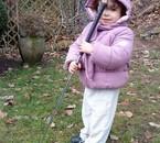 ma fille au golf