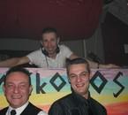 Hervé, Gilles et DJ David