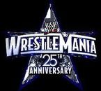 logo wrestlemania 25 th anniversary