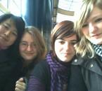 Sandra, Adeline, Coralie et Moi
