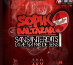"""Sans interdits la vie n'a pas de sens"" album solo Sopik B."