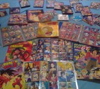 Ma collection de carte, CD et Jeux Dragon Ball