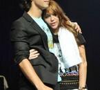 Joe Jonas et Miley Cyrus