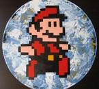 "Pixel Art-""Mario"" picture disc"