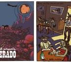 """record cover-""""Desperado"""" front & back"""