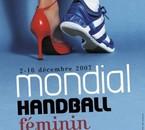 Affiche du Mondial de Handball féminin