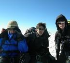 La Dream Team au sommet du Dome des Mischabel