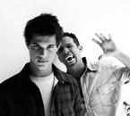 Taylor Lautner & Cam Gigandet