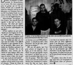 Monochrome dans le journal EXPRESSIONS