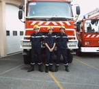 benjamin et deux pote des pompier