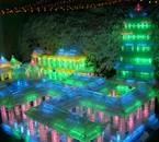 des lampes de glace