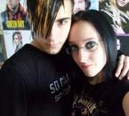 moi et sidney =) l'homme qui fait battre mon coeur  je t'aim