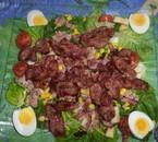 Salade de gésier composés