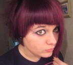 New hair style .