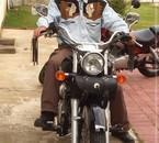 moi et ma moto shadow