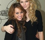 Miley Ray Cyrus And Taylor Swift