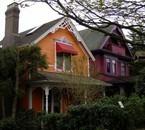 les maison sont colorée là bas