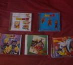 Mes CD audio de Dragon Ball