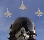 Pilote dans un mirage 2000