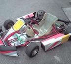 mon karting & ouè pilote c pilote^^