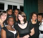 Jodie, Iréne, Jenny, Béa, Sam, Mel & moi