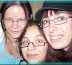 Entre amies,avec mes 2 p'tites soeurs de coeur
