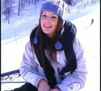 Moi en ski , en mode delire lol