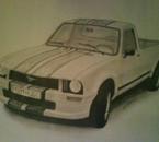 mustang pickup 504 (dessiné par moi)