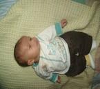 mon petit fils lucas 1 mois et 7 jours