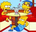 Lisa, Milhouse et Bart