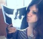 Oui j'embrasse des photos XD