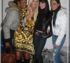 Caroline, Mina, Jenny & moi